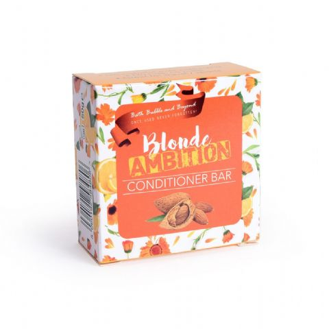 BLONDE AMITION Conditioner Bars Rhubarb Fair Hair - Bath Bubble & Beyond 50g